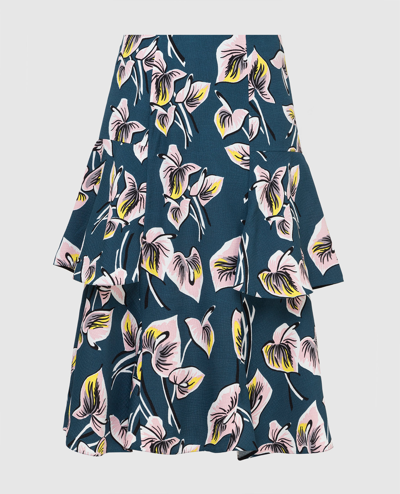 Темно-бирюзовая юбка