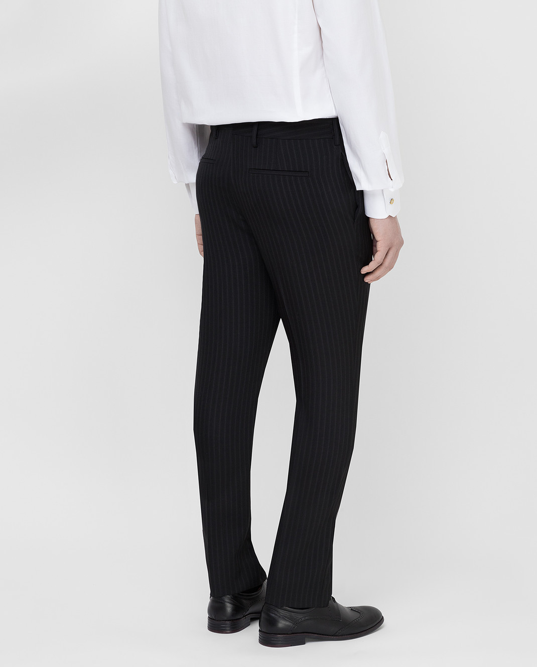 Saint Laurent Черные брюки 552560 изображение 4