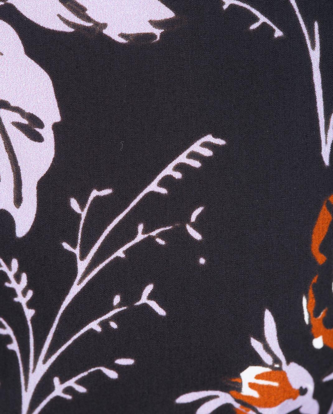 Victoria Beckham Черная блуза SHSHO1047 изображение 5