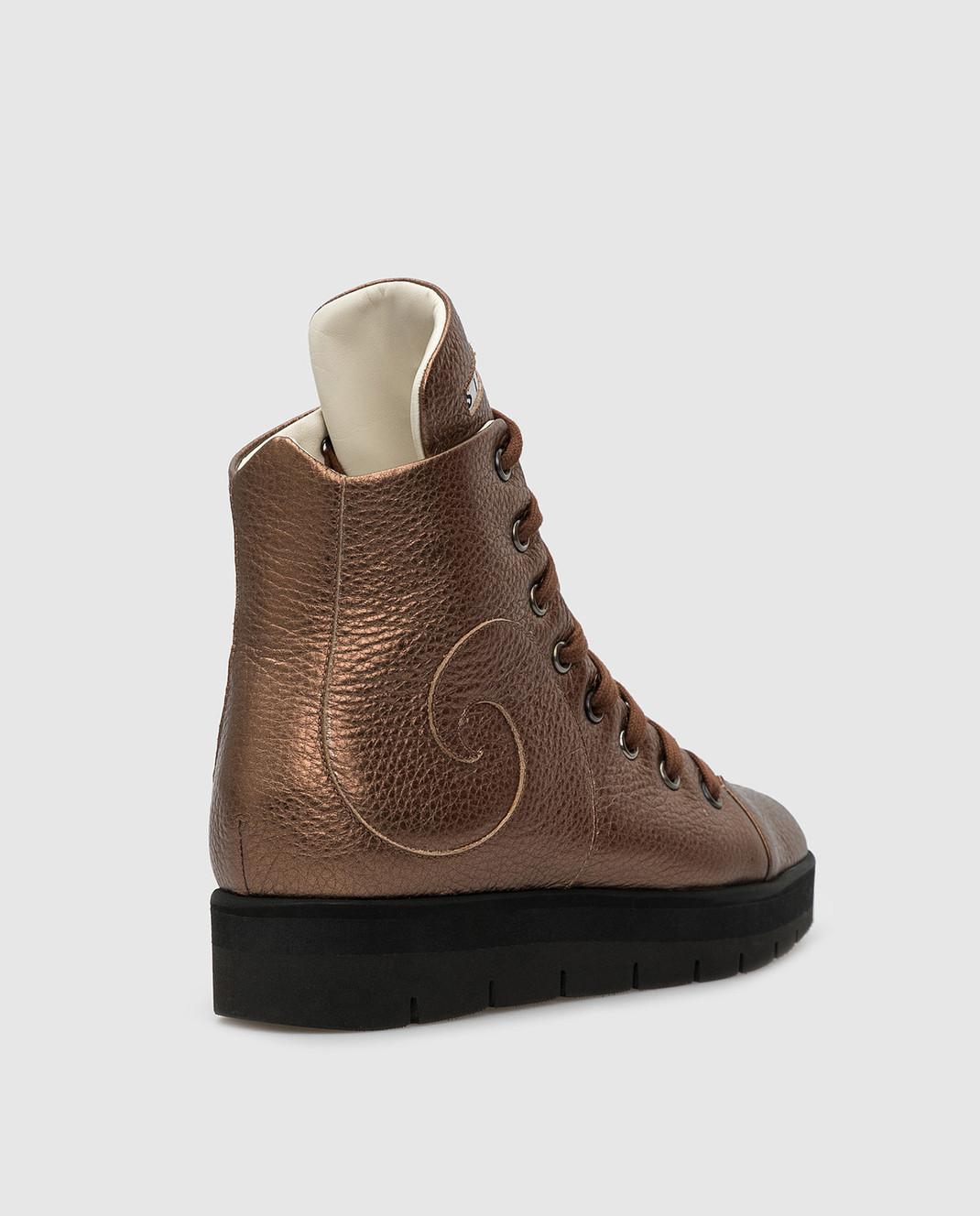 Steiger Бежевые ботинки 1384A изображение 4