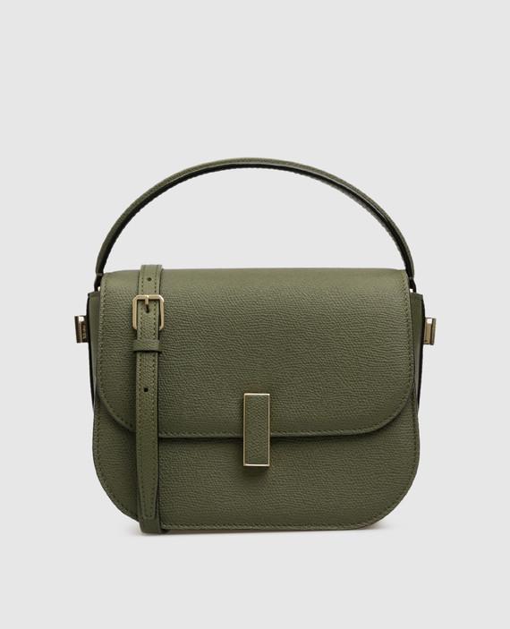 "Зеленая кожаная сумка ""Iside"""