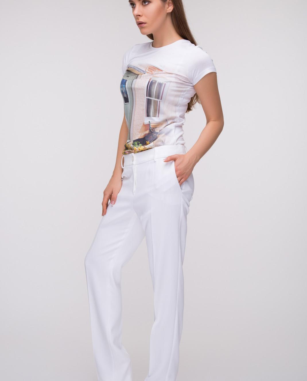 Blumarine Белые брюки 6359 изображение 2