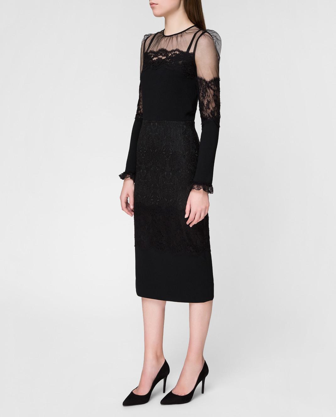 Dolce&Gabbana Черное платье изображение 3