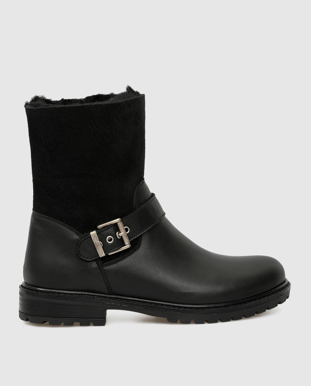 Zecchino D'oro Детские черные сапоги F0242563032