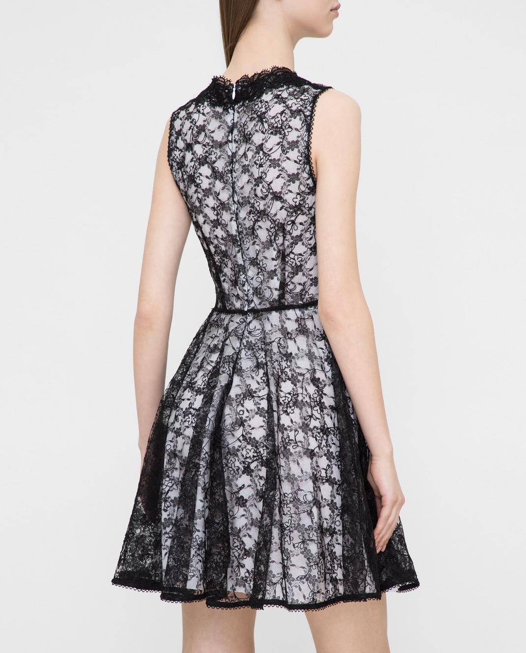 Ermanno Черное платье из кружева AB36 изображение 4
