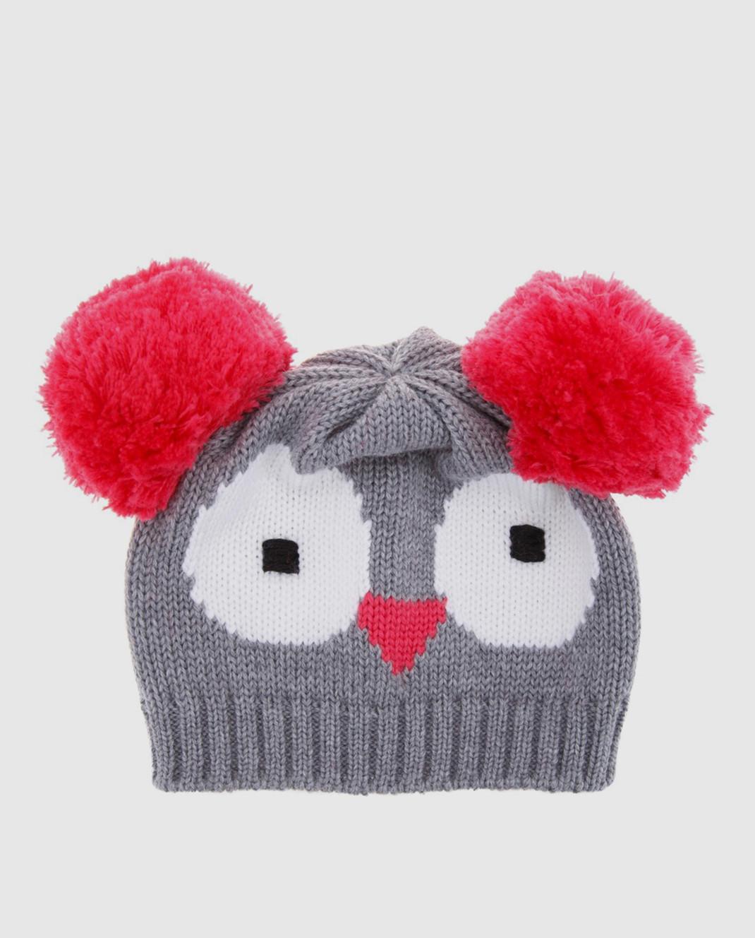 Catya Детская серая шапка 721561