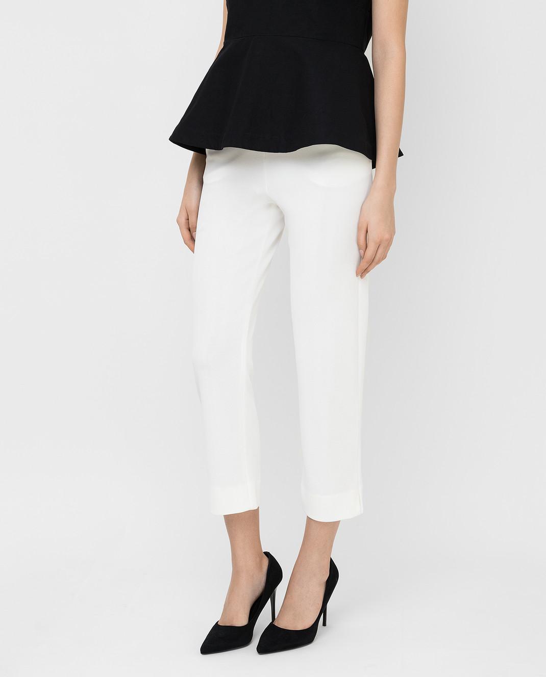 Armani Белые брюки 3XAP53 изображение 3