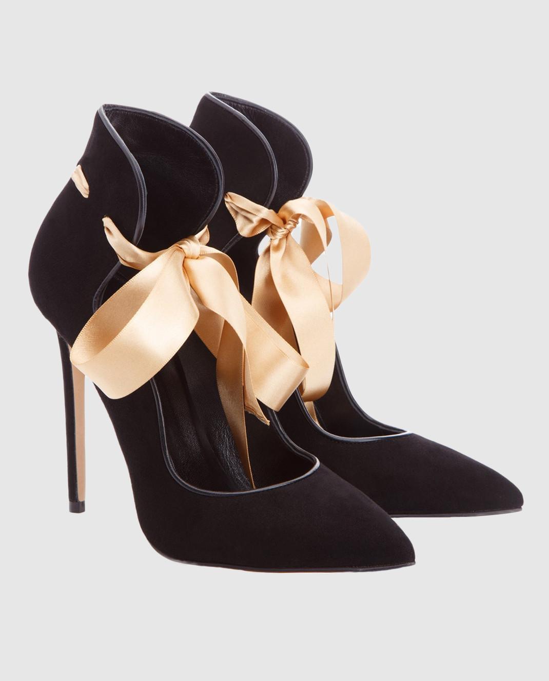 Cerasella Черные замшевые туфли MELISSA MELISSA изображение 3