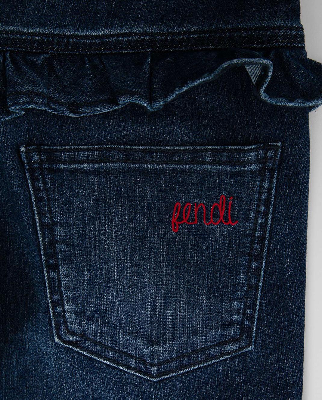 Fendi Детские джинсы JFF1051012 изображение 3