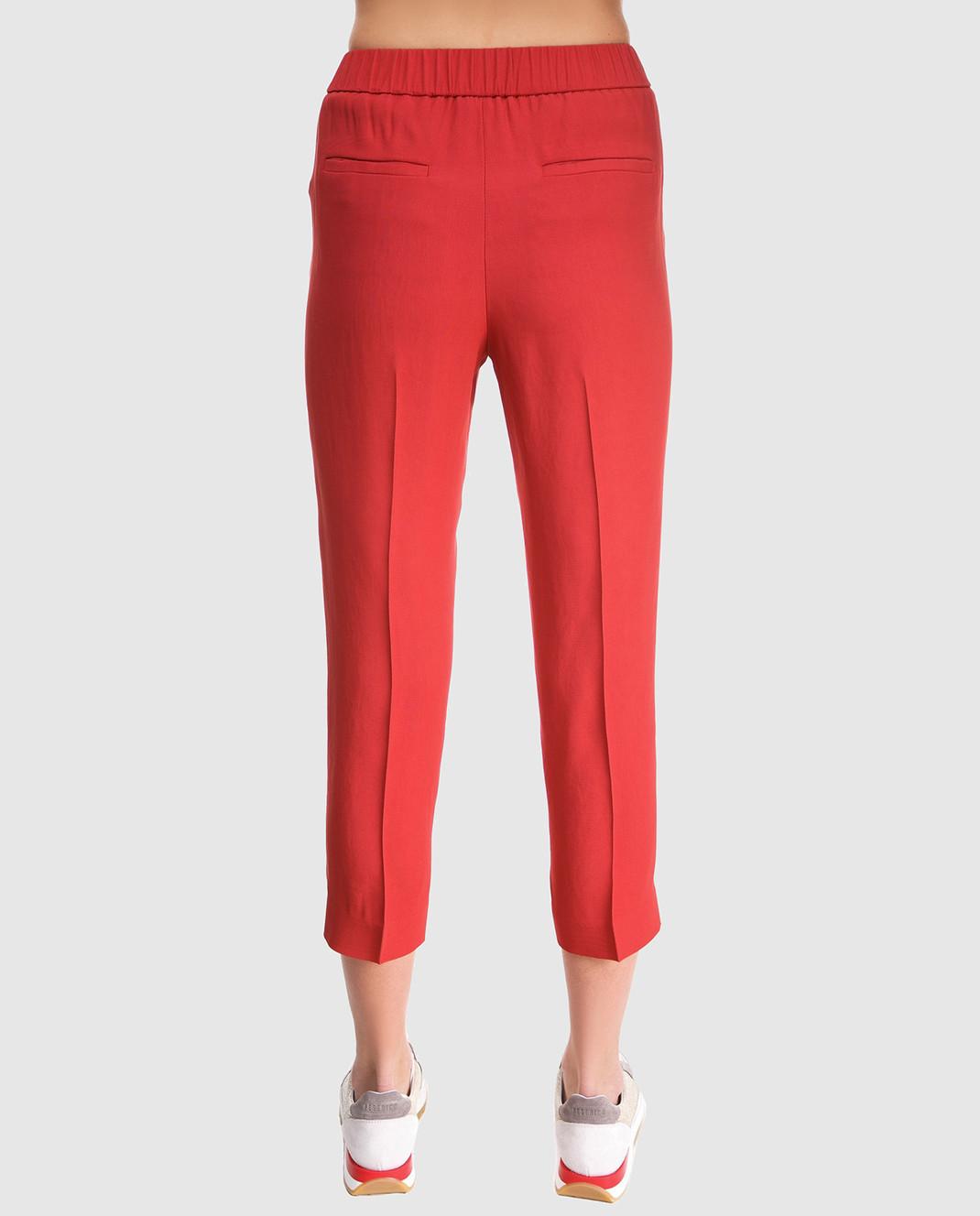 Peserico Красные брюки P04136 изображение 4