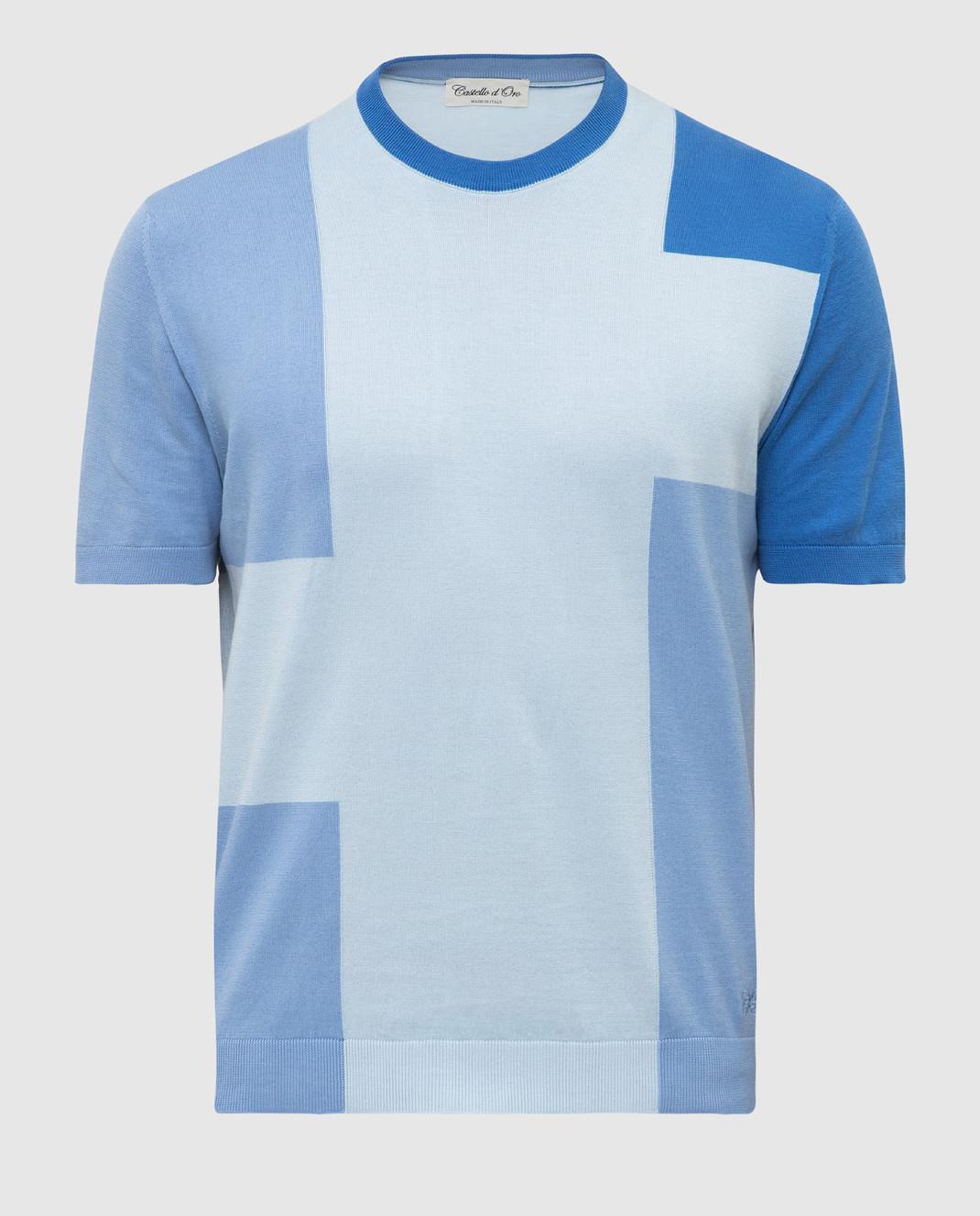 Светло-голубая футболка