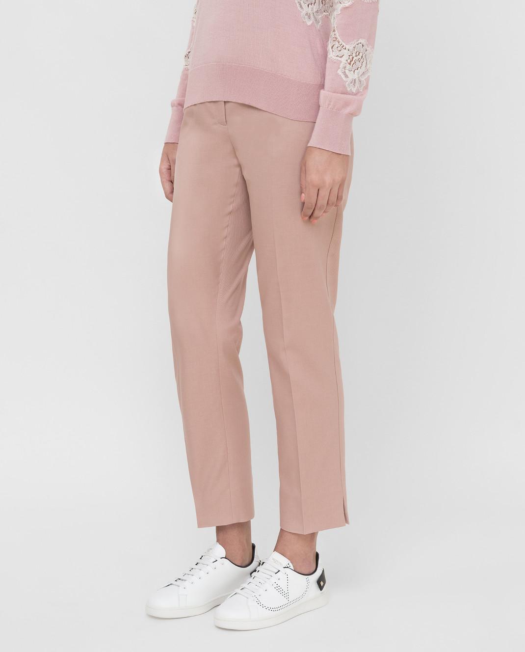 Dolce&Gabbana Розовые брюки FTAGNTFUFGD изображение 3