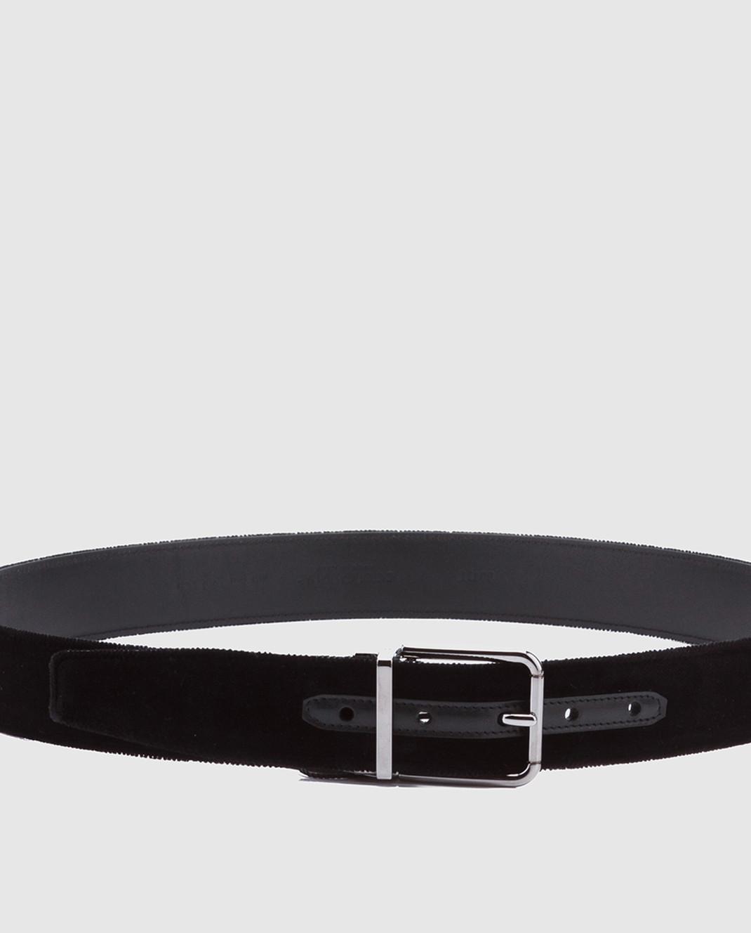 Dolce&Gabbana Черный ремень BC4217A6808 изображение 2