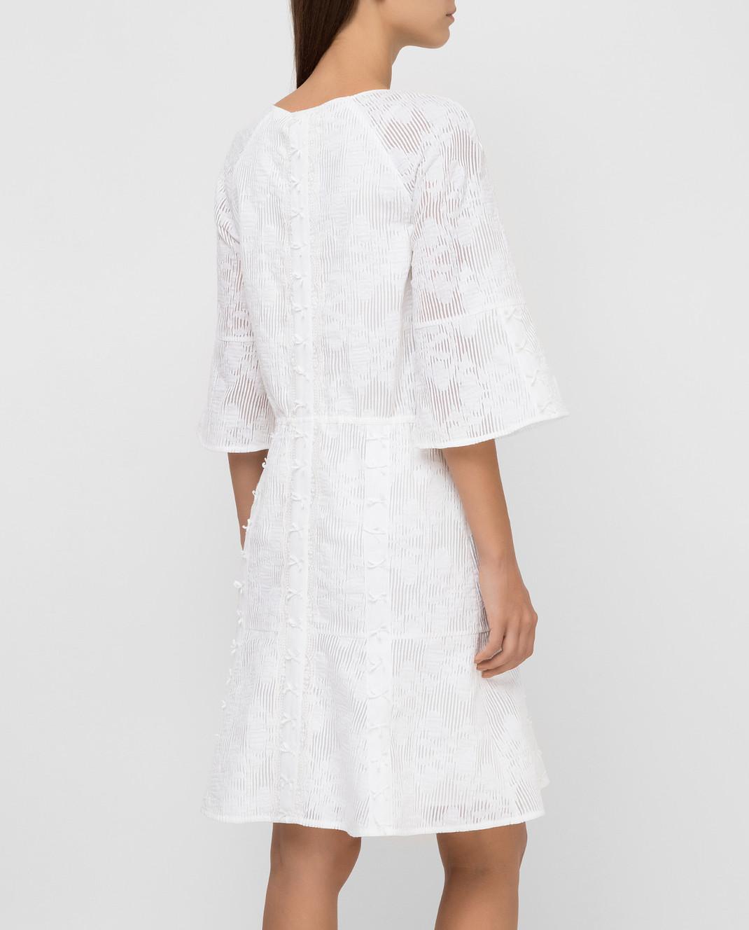 Blumarine Белое платье 6454 изображение 4
