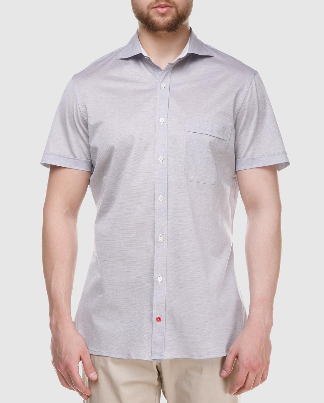 ISAIA Серая рубашка CAJ005J0049 изображение 3