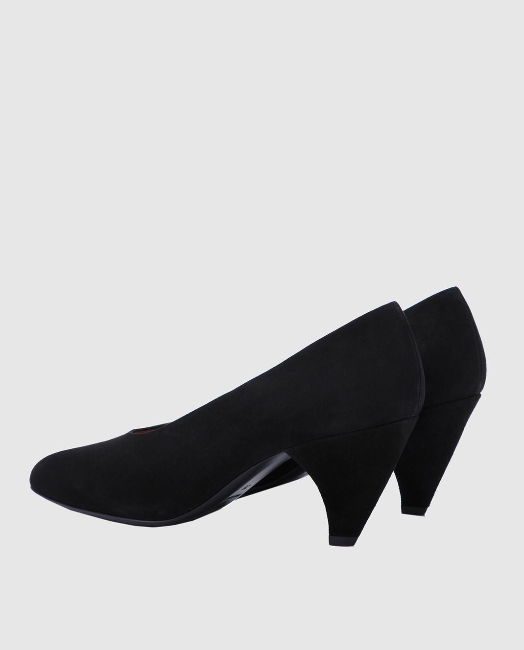 Laurence Dacade Черные замшевые туфли Sabi SABI изображение 3