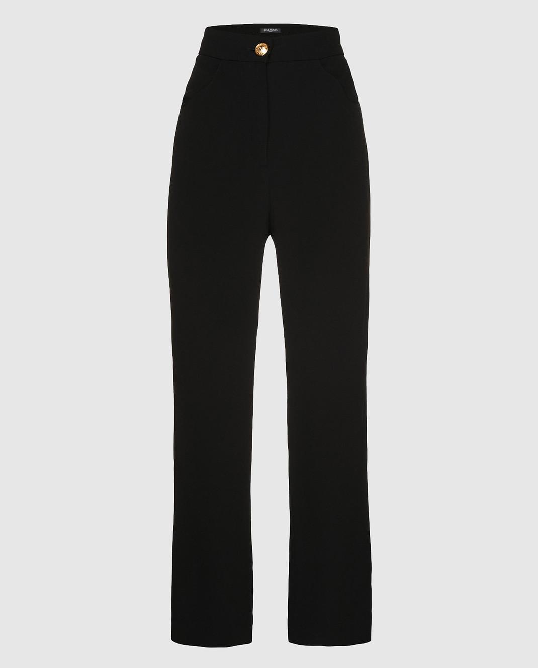 Balmain Черные брюки изображение 1