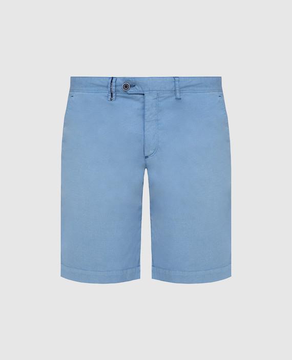 Голубые шорты