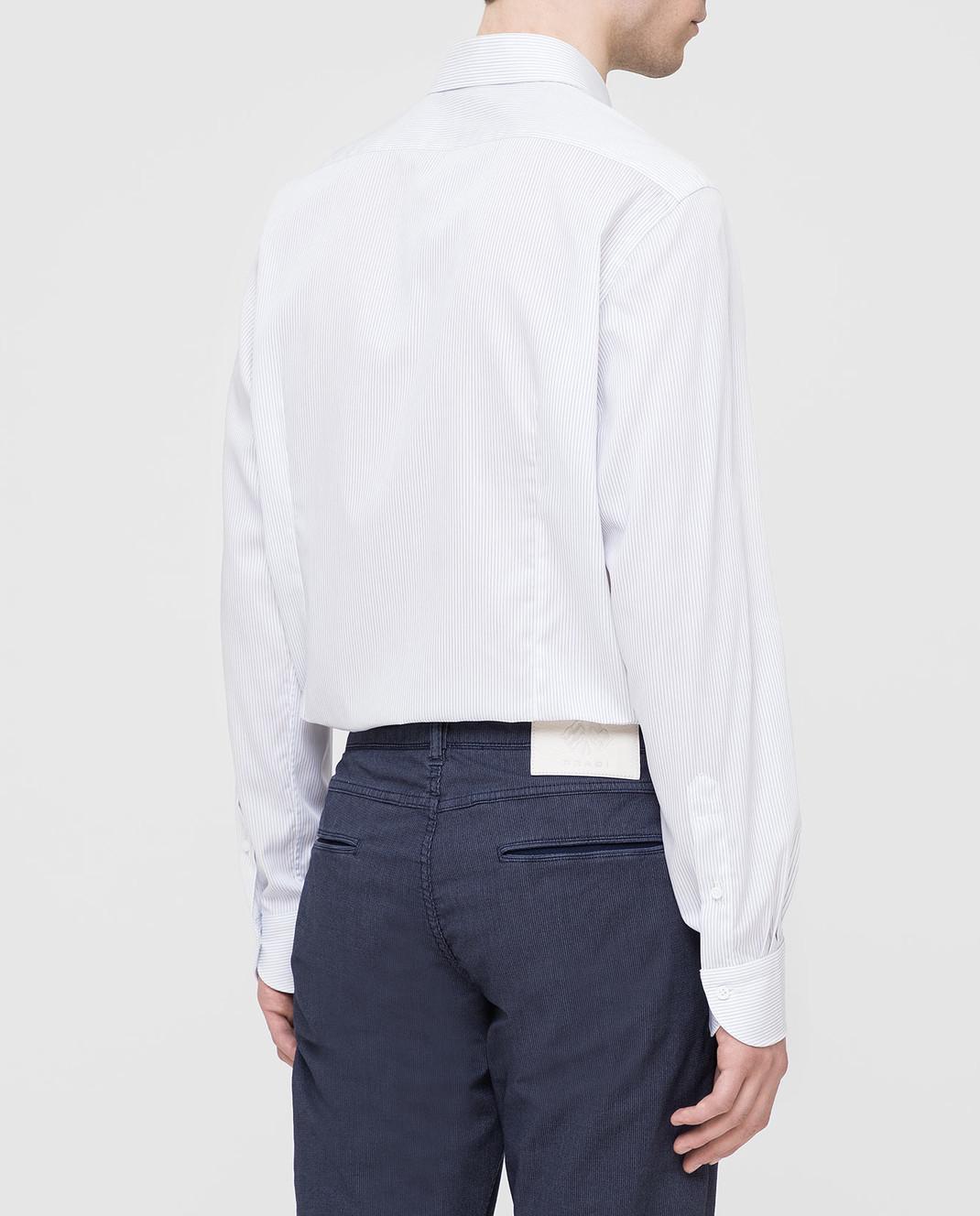 Carrel Белая рубашка на пуговицах C4510418G изображение 4