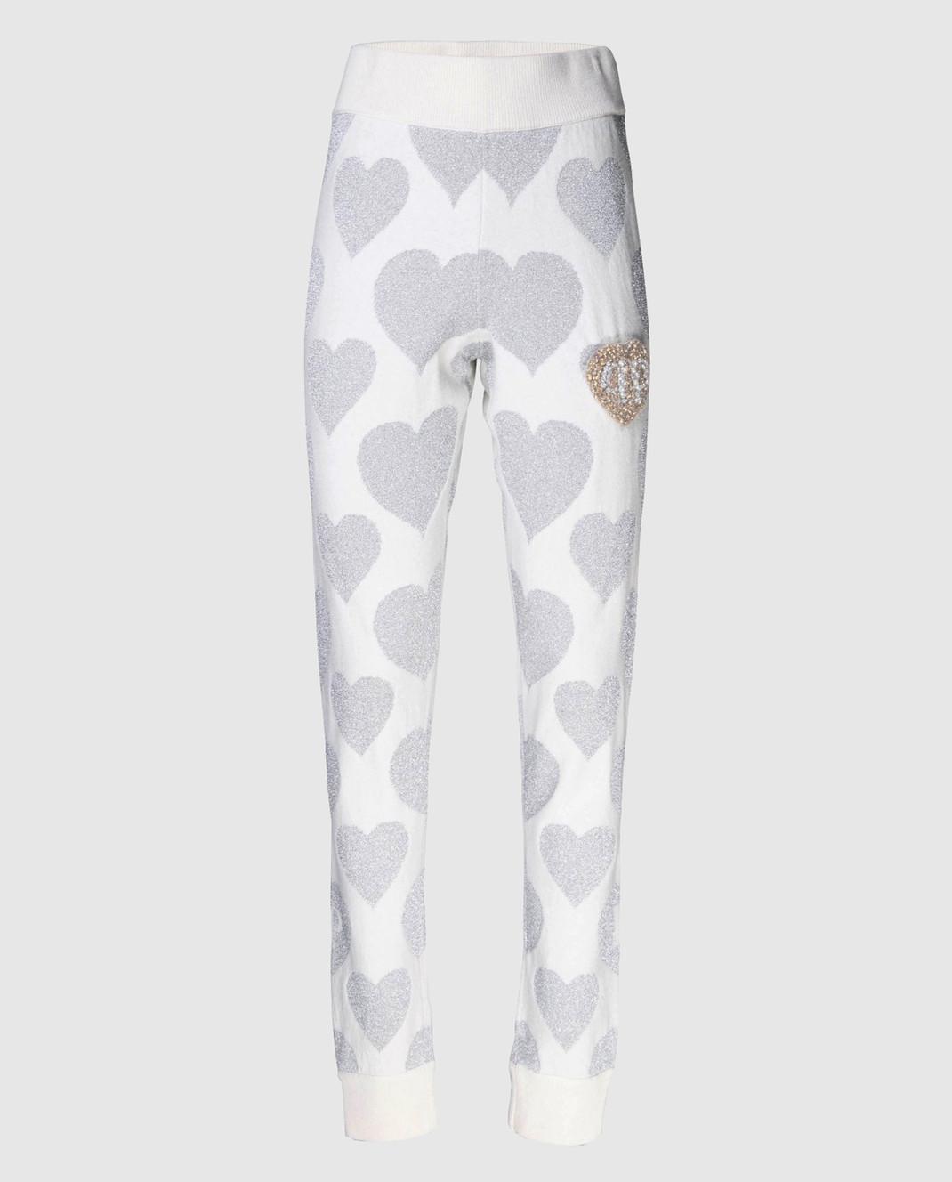 Philipp Plein Белые брюки WKT0008