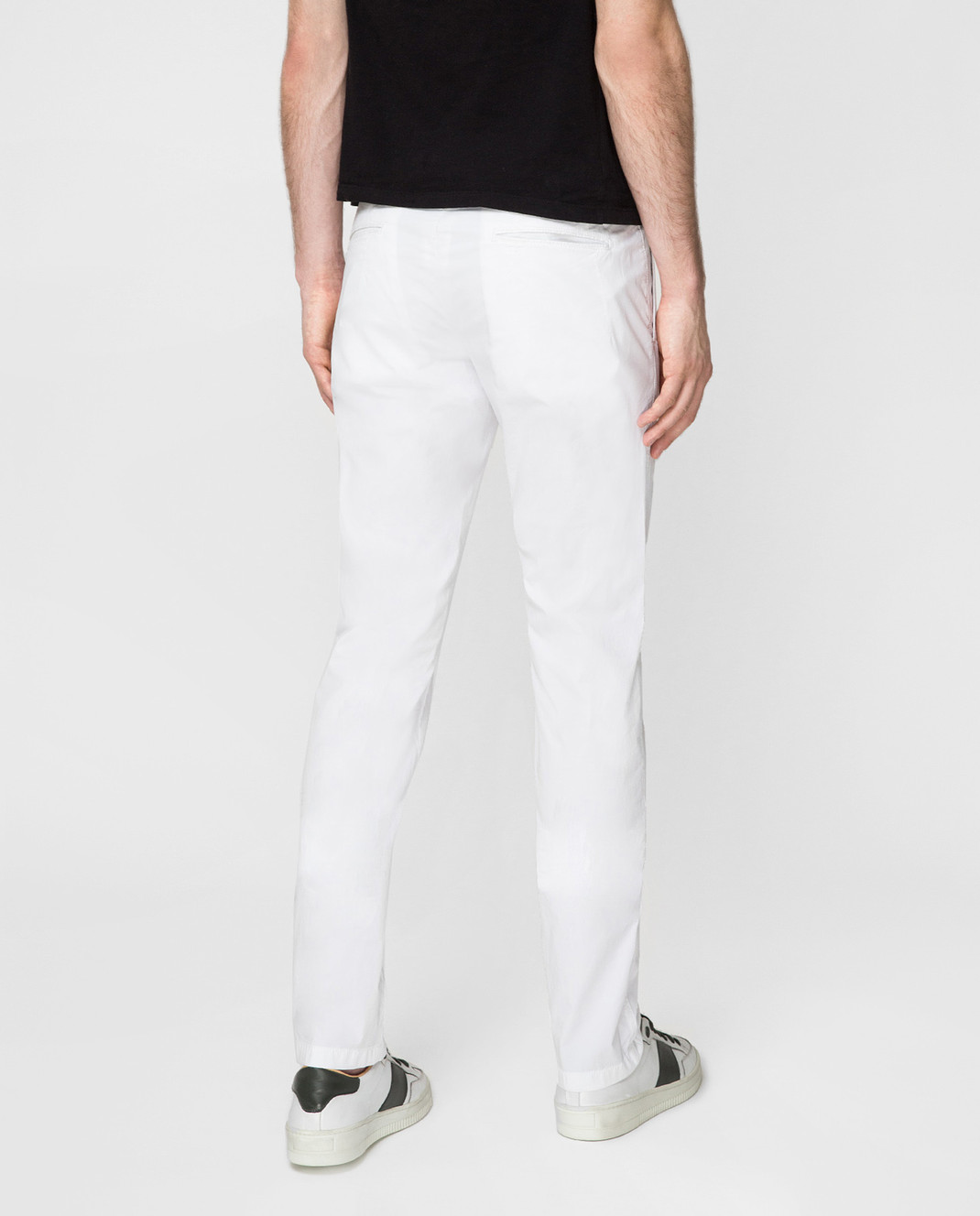 Kiton Белые брюки UPCAPRJ07R90 изображение 4