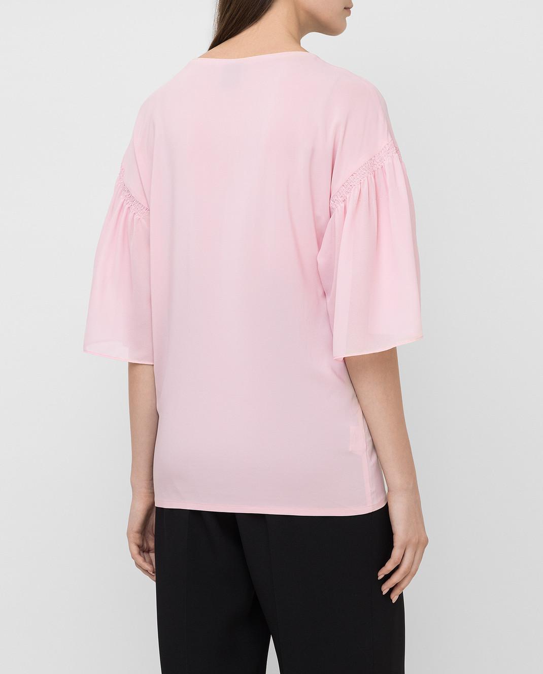 Pinko Розовая блуза 1B11QP изображение 4