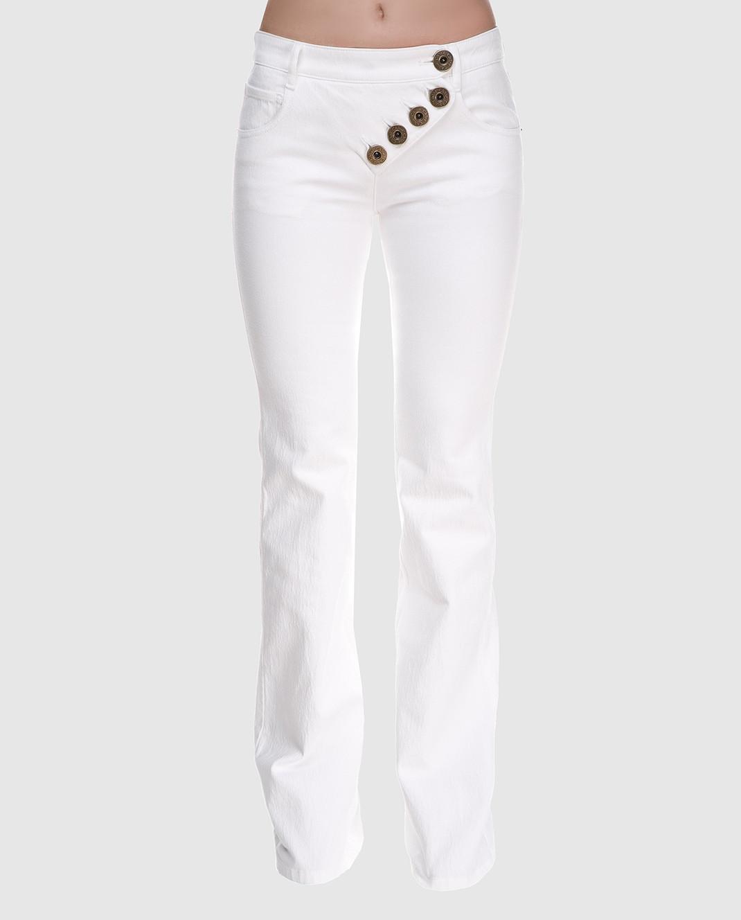 Chloe Белые джинсы 18SDP70154 изображение 3
