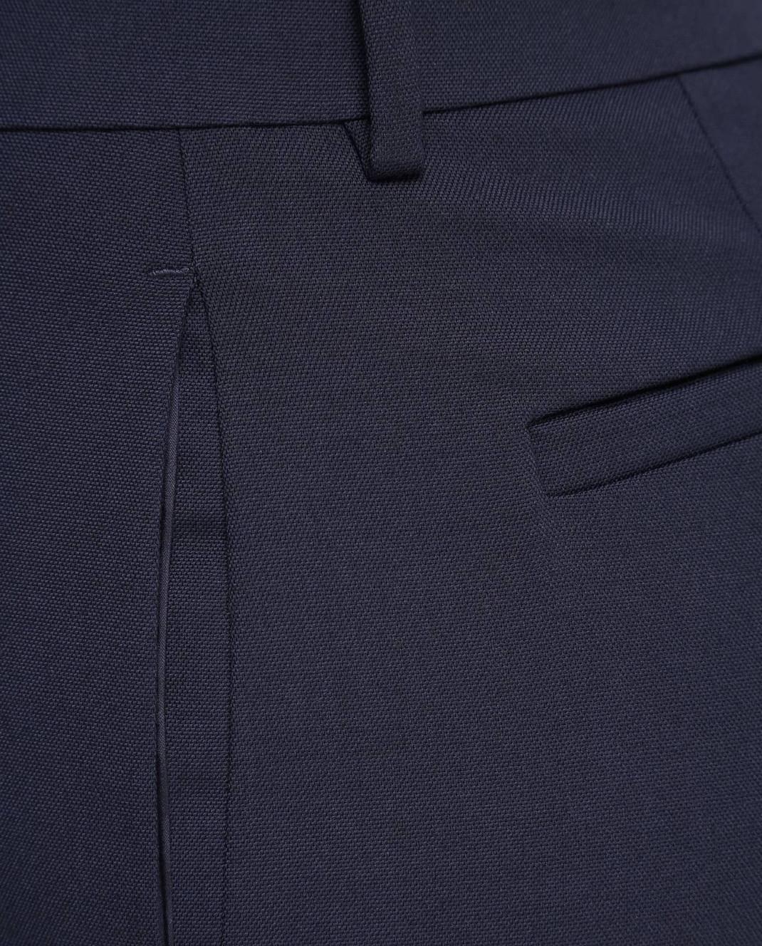 Red Valentino Синие брюки RR3RBA8000J изображение 5
