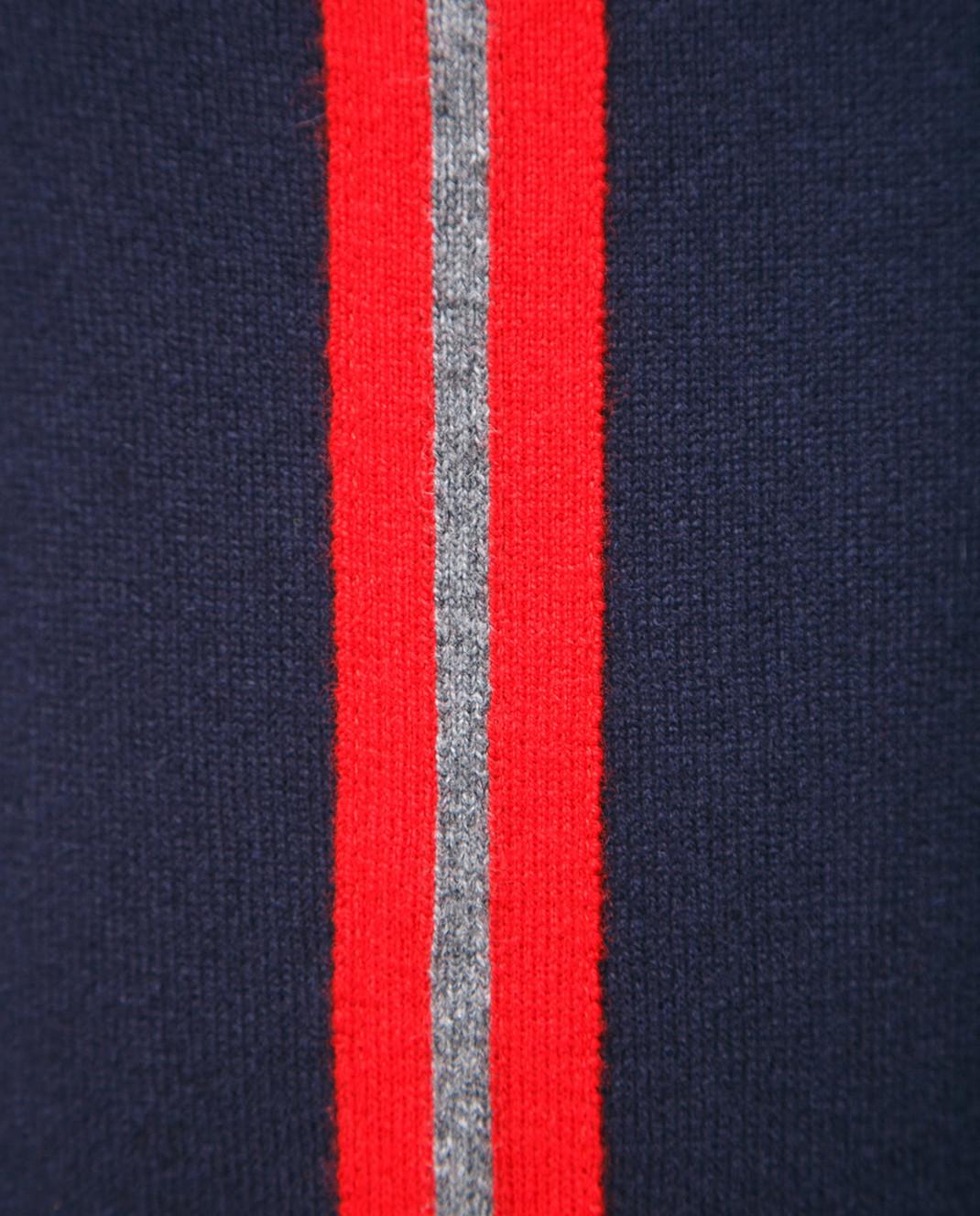 Johnstons Темно-синие брюки из кашемира KAL03898 изображение 3