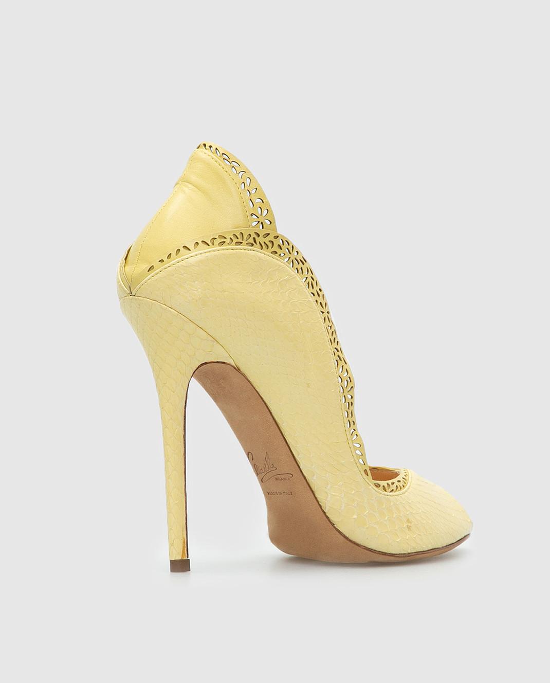 Cerasella Желтые туфли DANAEELAPHE4242 изображение 4