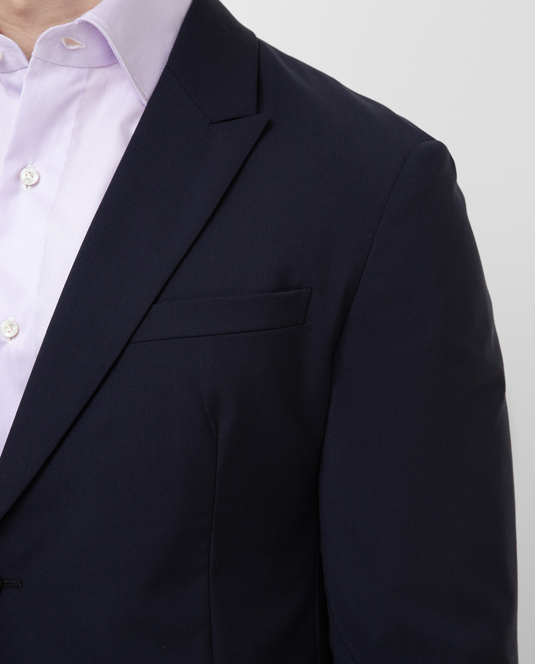 Prada Темно-синий блейзер из шерсти UGS0141RII изображение 5