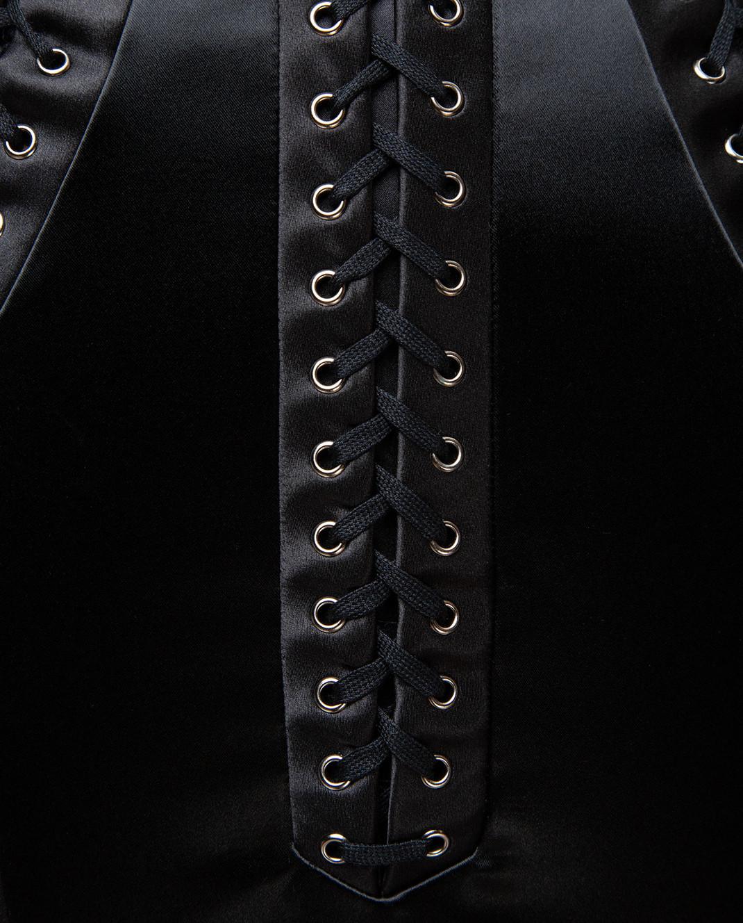 Dolce&Gabbana Черная юбка F4BHKTFURAD изображение 5