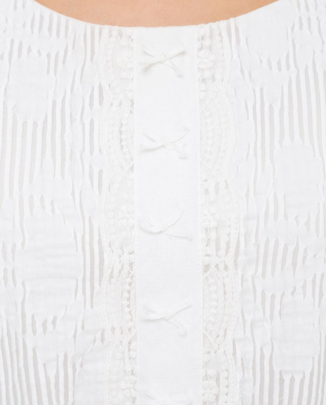 Blumarine Белое платье 6454 изображение 5