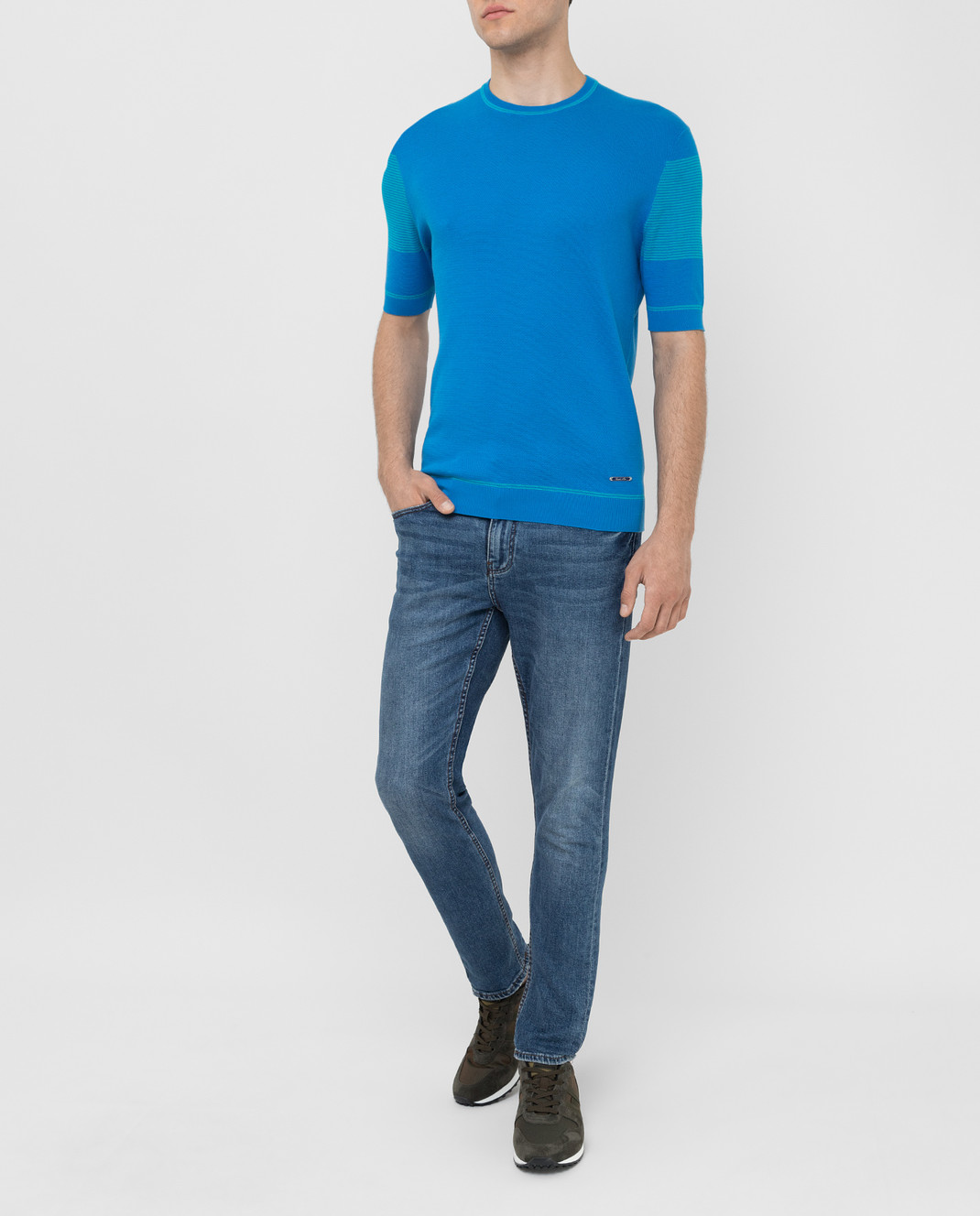 Castello d'Oro Синяя футболка изображение 2