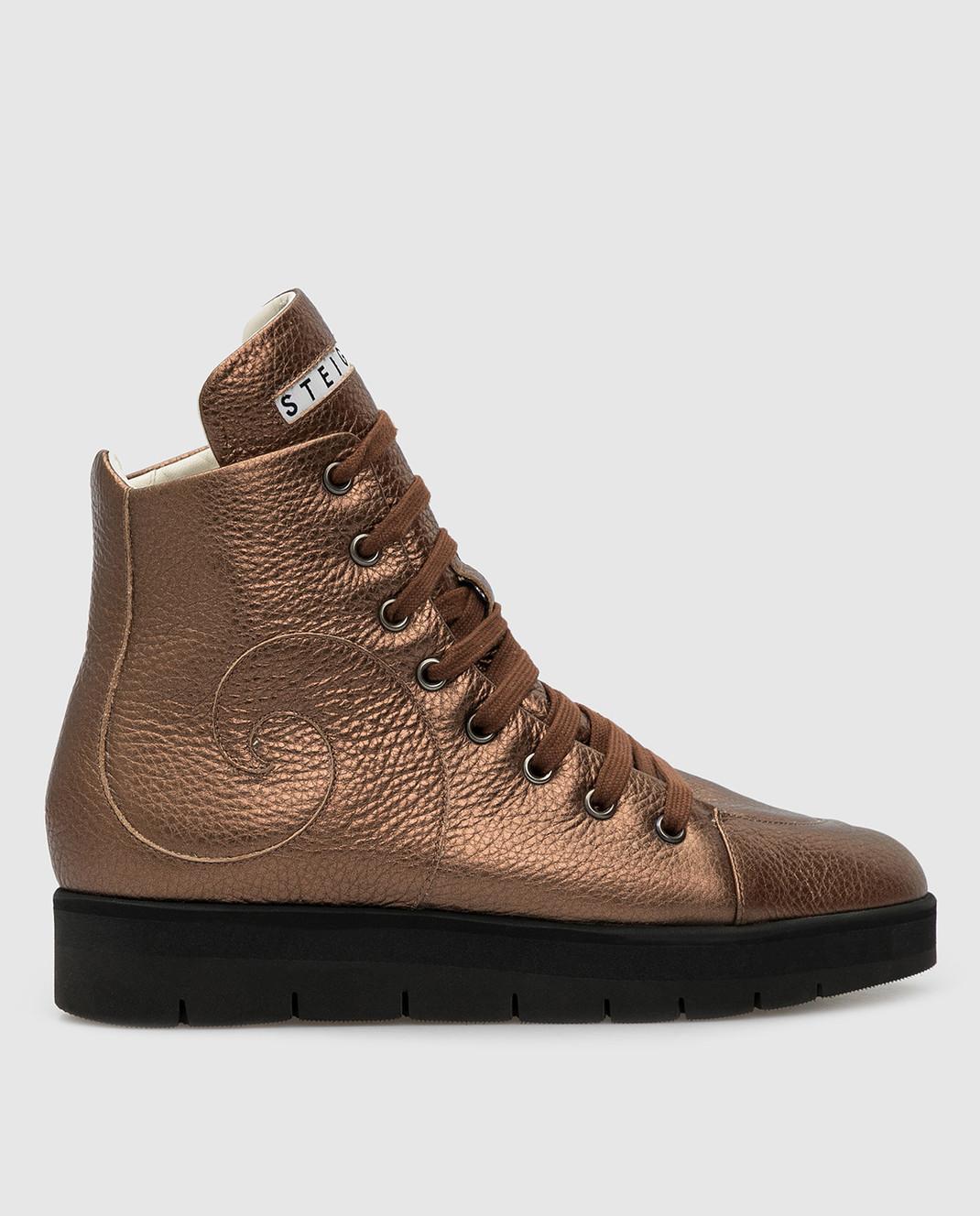 Steiger Бежевые ботинки 1384A