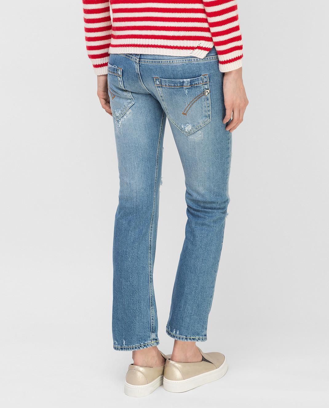 Dondup Синие джинсы P857 изображение 4
