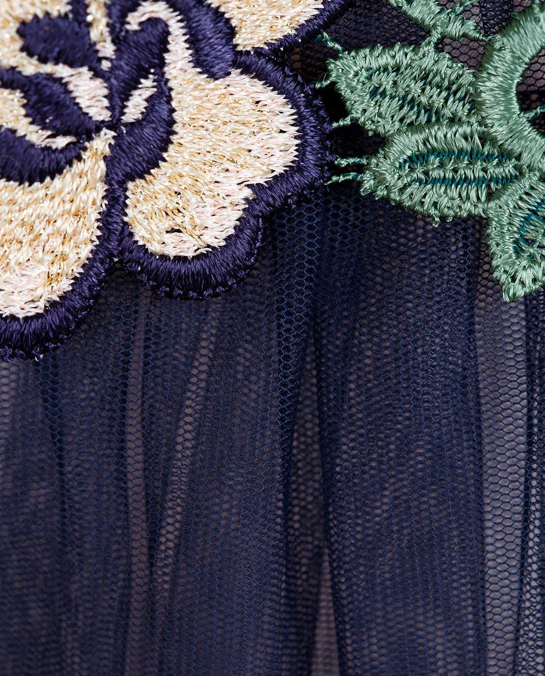 Tresophie Синее платье с кружевом J2213317 изображение 5