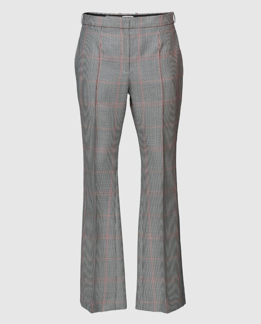 NINA RICCI Серые брюки 17ECPA018WV0211