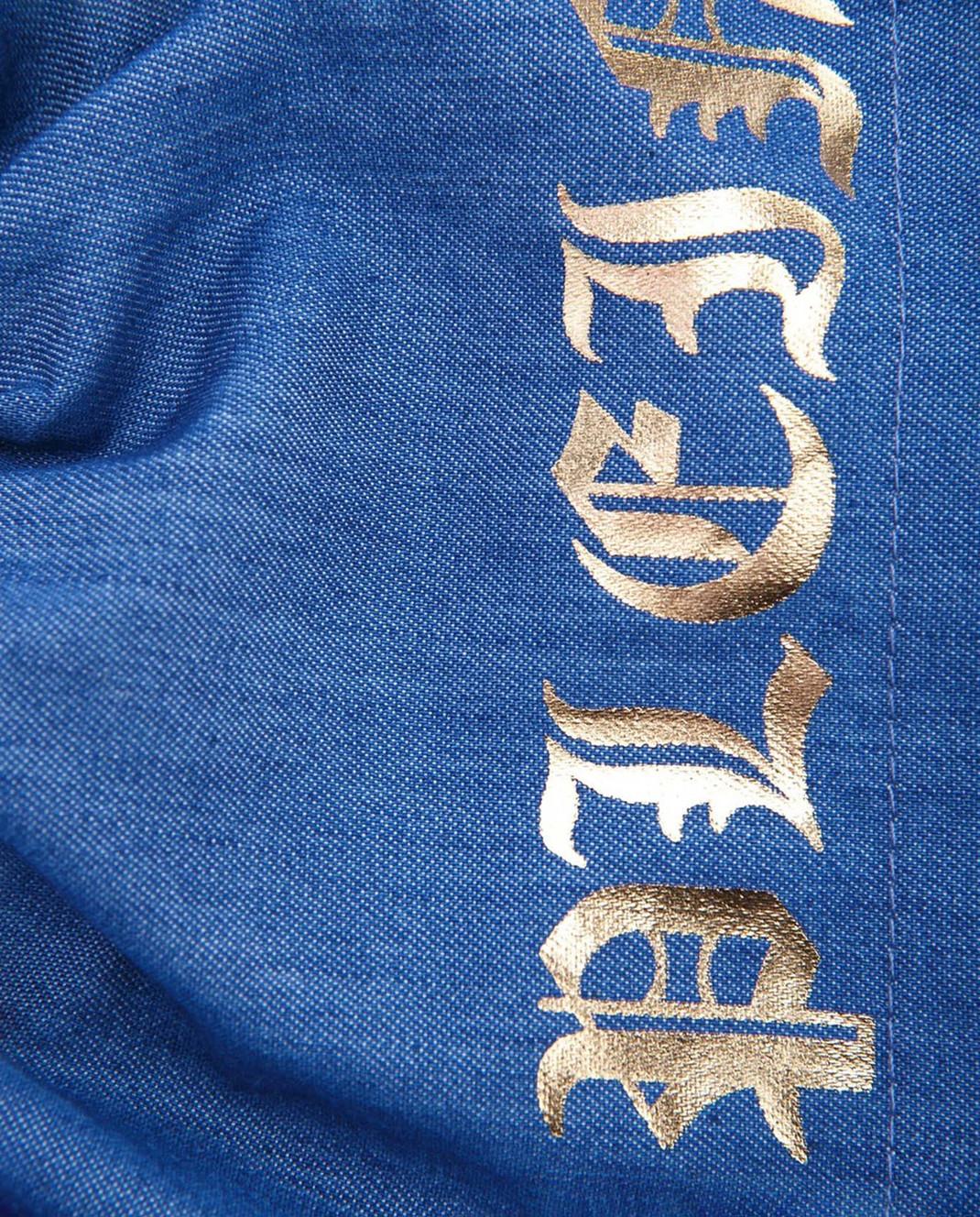 Philipp Plein Детская синяя юбка CRV0002 изображение 3