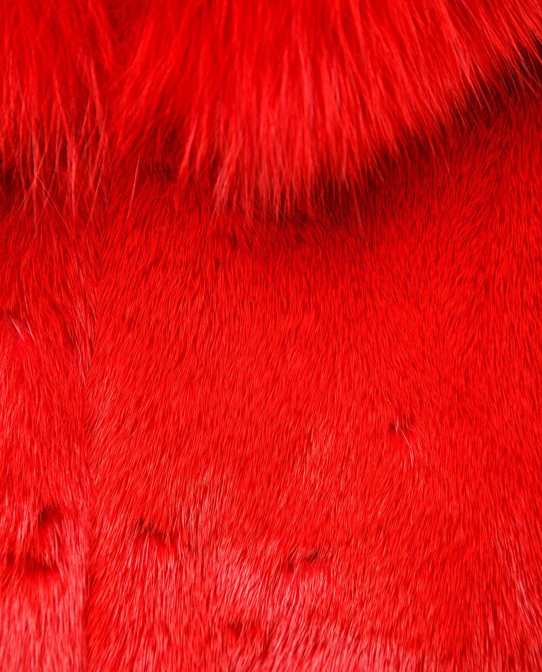 Fabio Gavazzi Парка из шерсти и кашемира и двусторонний жилет с мехом норки и лисы с карманами 9TV000I18FG101PIVR изображение 7