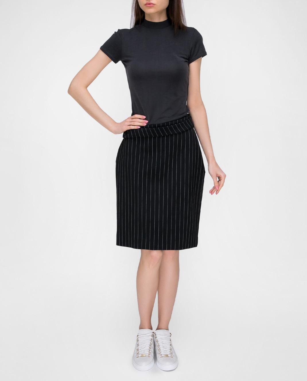 Balenciaga Черная юбка 471020 изображение 2