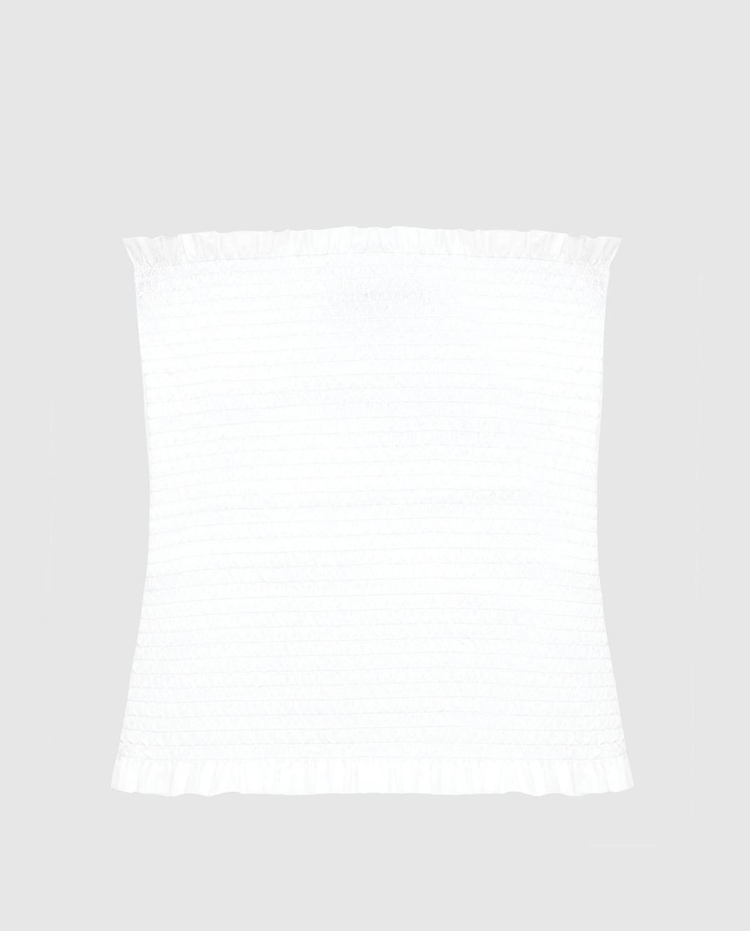 Veronique Branquinho Белый топ VPG330AVG101