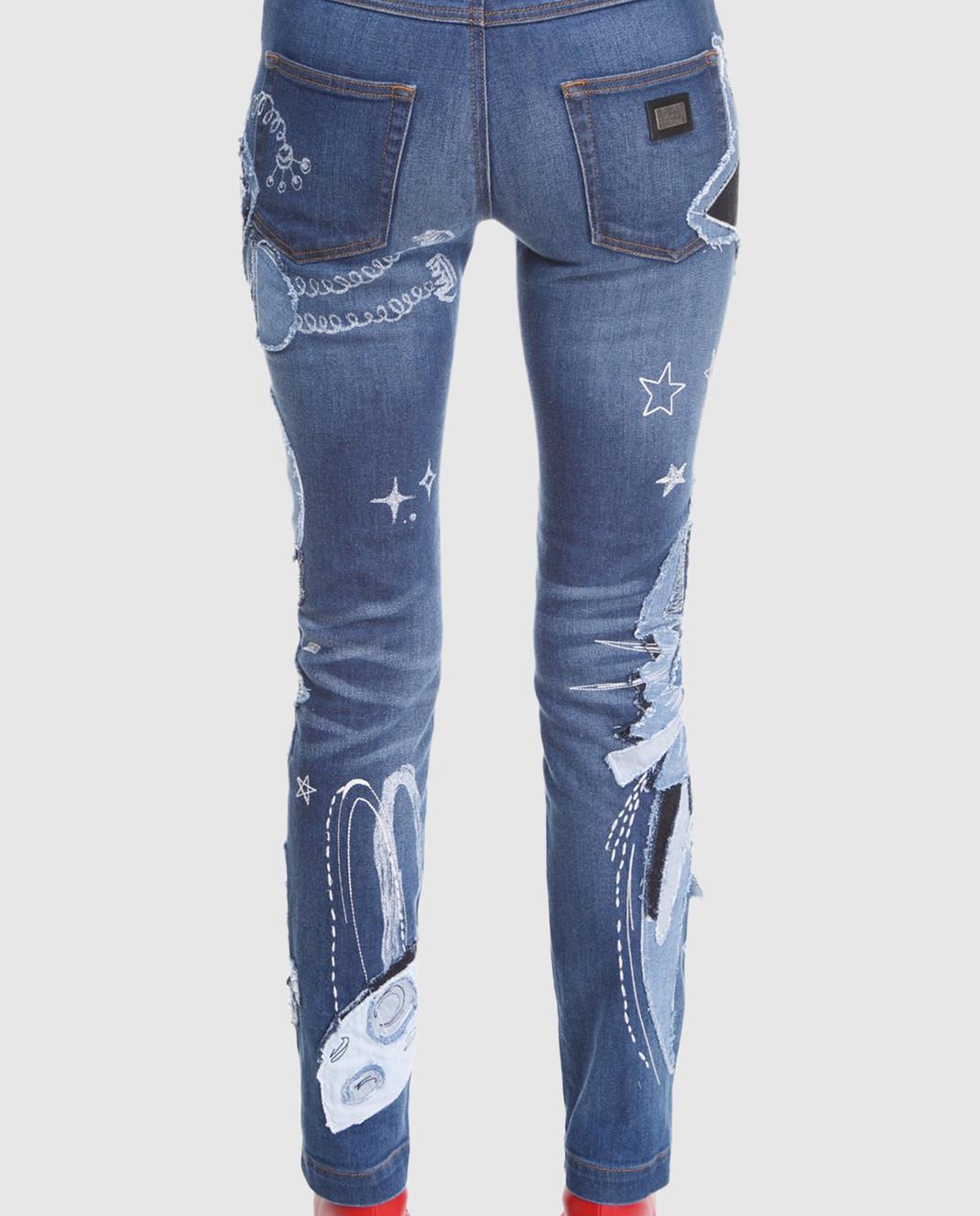 Dolce&Gabbana Синие джинсы FTAY1DG888B изображение 4