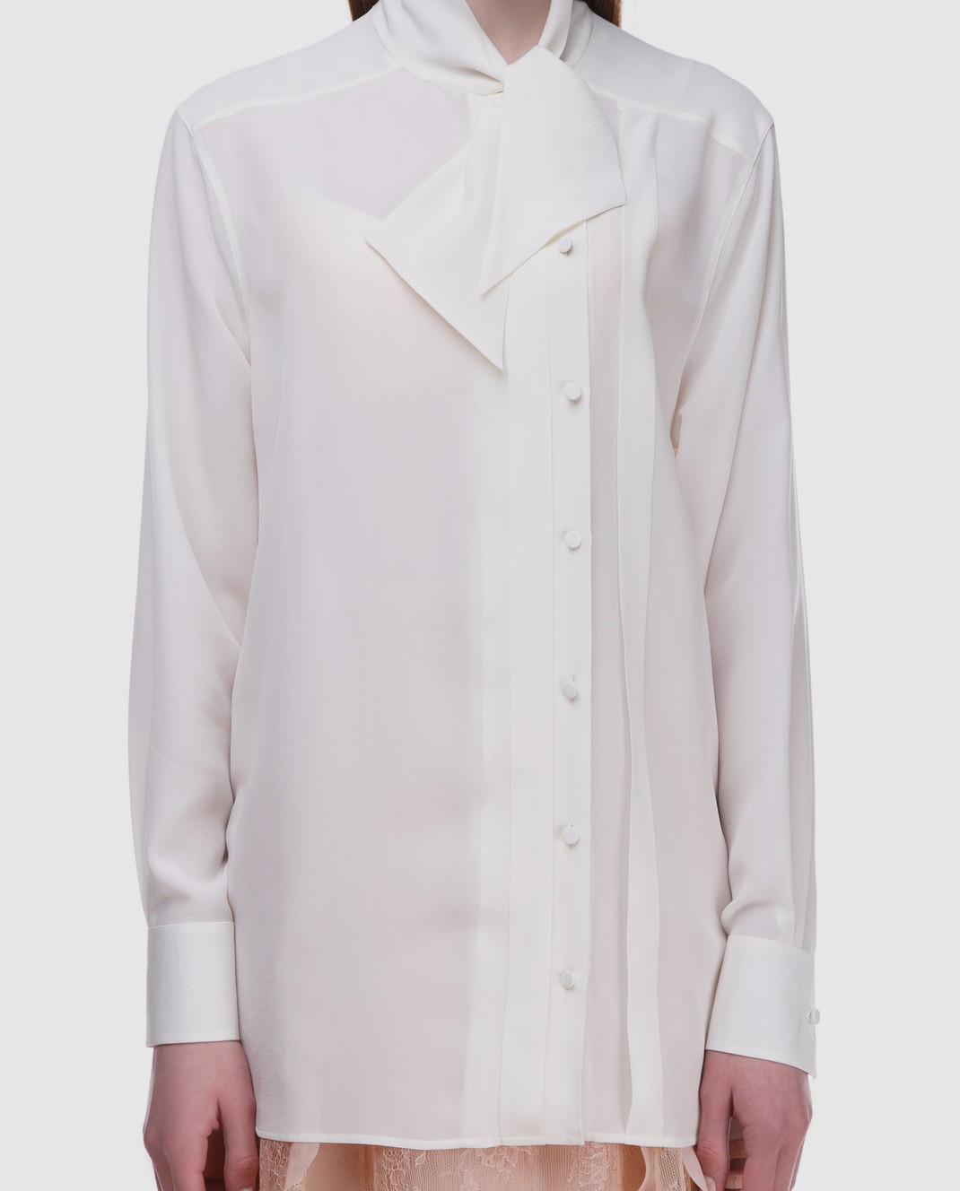 Блуза из шелка  Valentino PB3AB09Z21B — Symbol