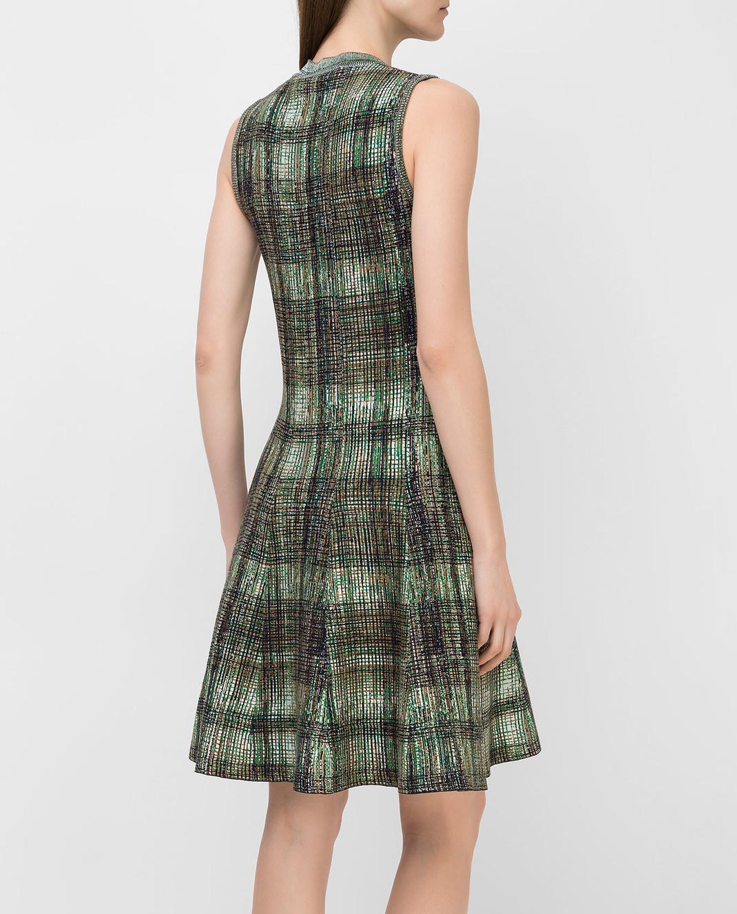Victoria Beckham Платье из шелка и шерсти DRKNT6455 изображение 4