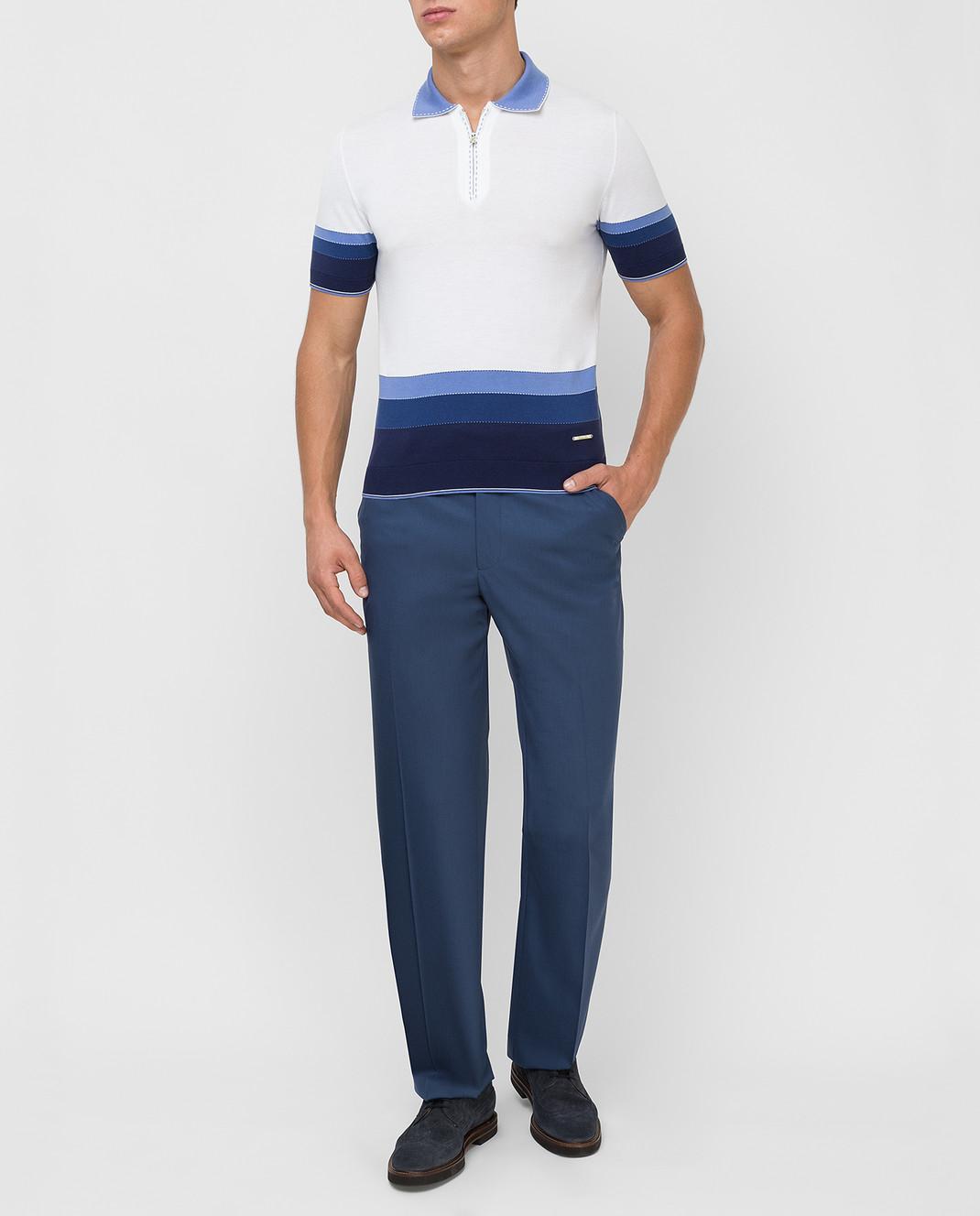 Castello d'Oro Синие брюки изображение 2