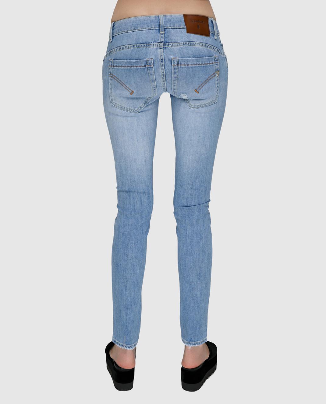 Dondup Голубые джинсы P622DS107DO51 изображение 4