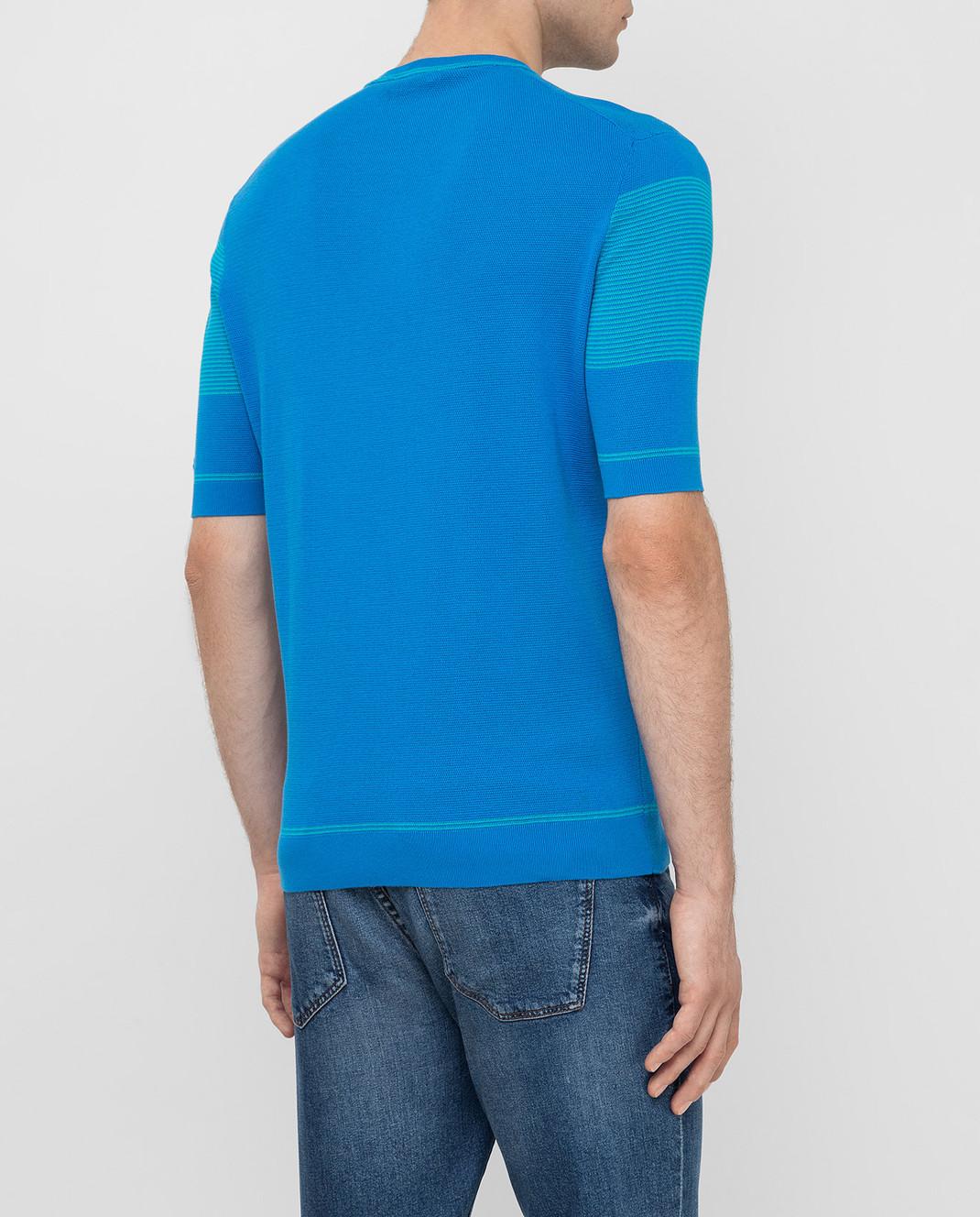 Castello d'Oro Синяя футболка изображение 4