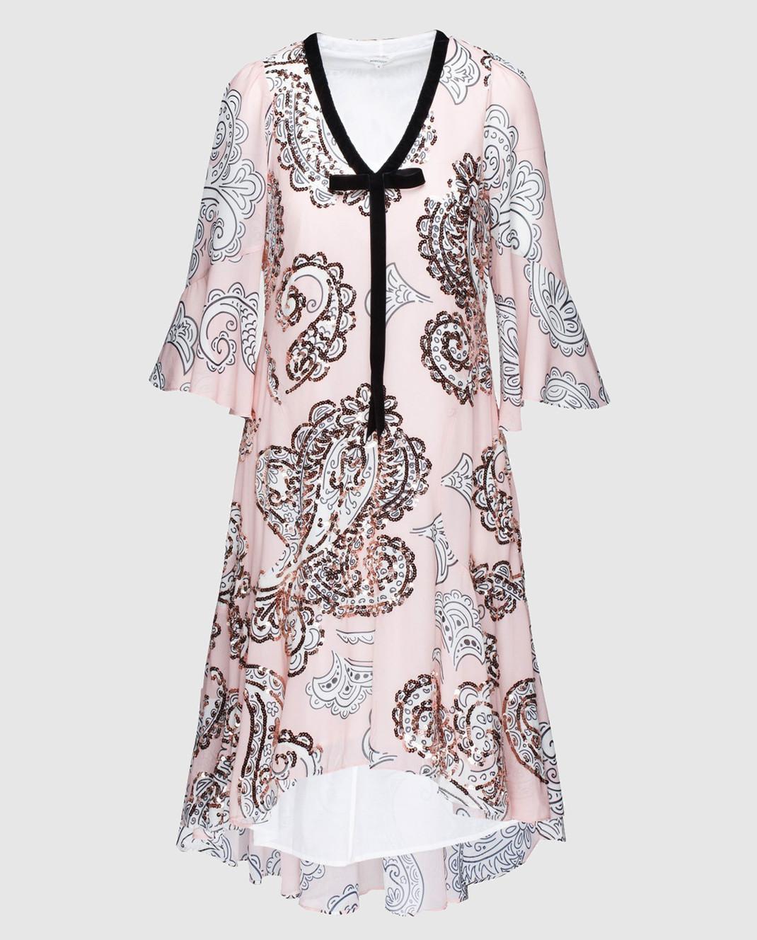 Manoush Персиковое платье ME7PPRO
