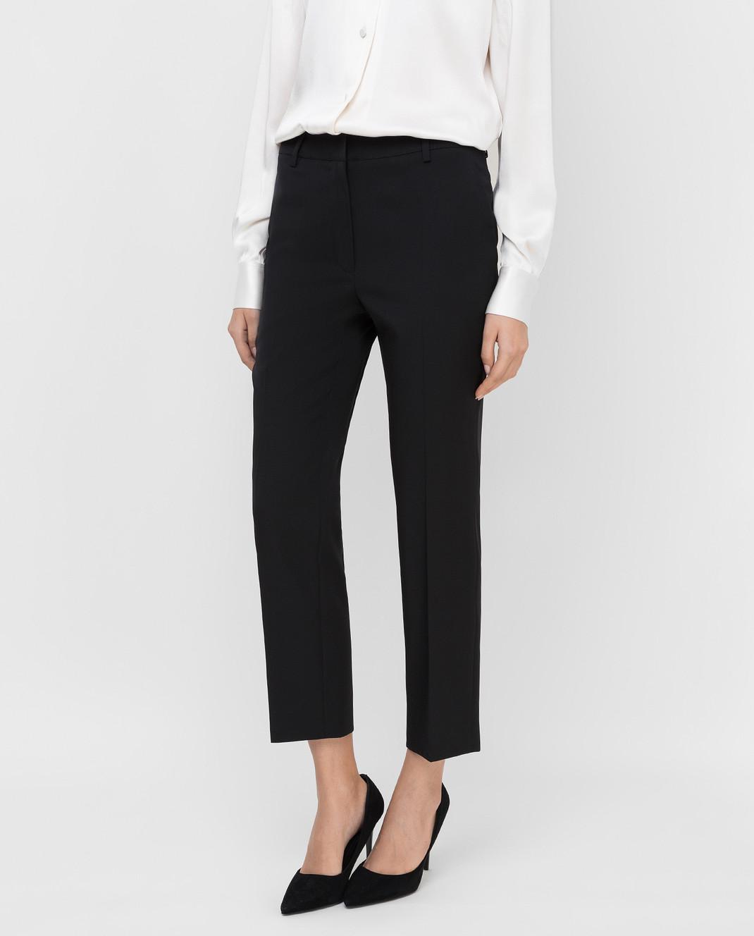 Lanvin Черные брюки из шерсти изображение 3